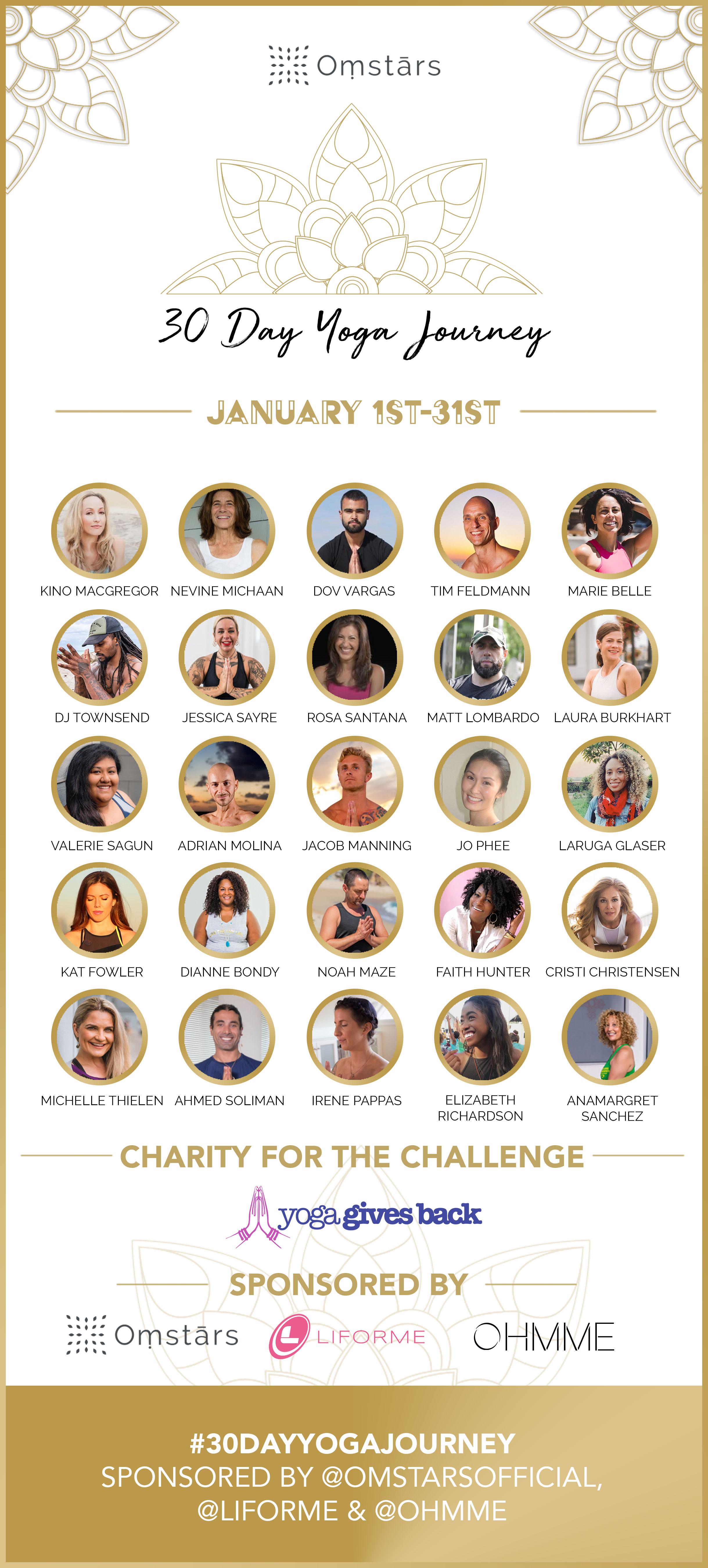 Screenshot of 30 Day Yoga Journey